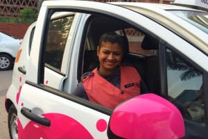 Meru lady cab driver