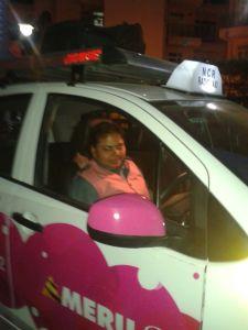 Meru lady cab driver Jyoti Gupta