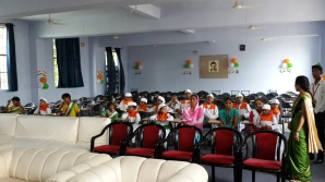 children attending Independence Day function