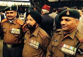 Three living PVCs ... Yogendra Singh Yadav, Bana Singh & Sanjay Kumar